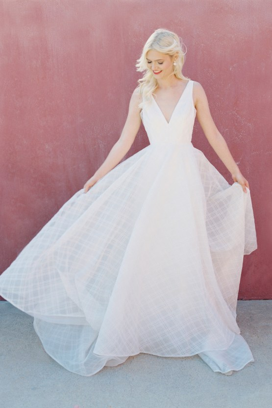 Jenny by Jenny Yoo's Fresh and Totally Modern Wedding Dress Collection | Avery 3