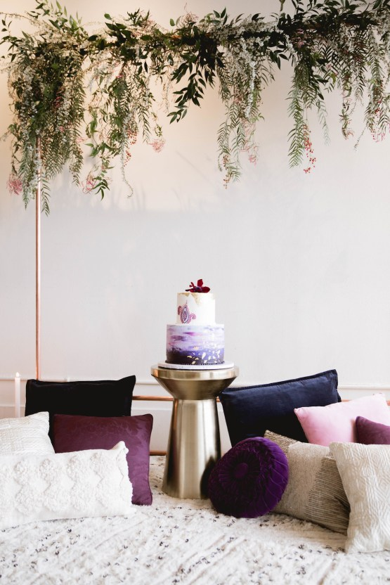 Multicultural Purple and Gold Bollywood Wedding Inspiration – Willow and Ivy Events – Zainab Rikabi 12