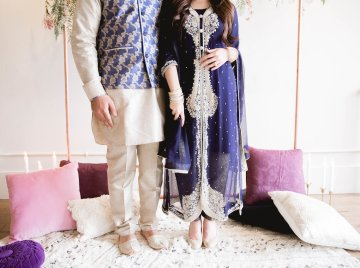 Multicultural Purple and Gold Bollywood Wedding Inspiration – Willow and Ivy Events – Zainab Rikabi 33
