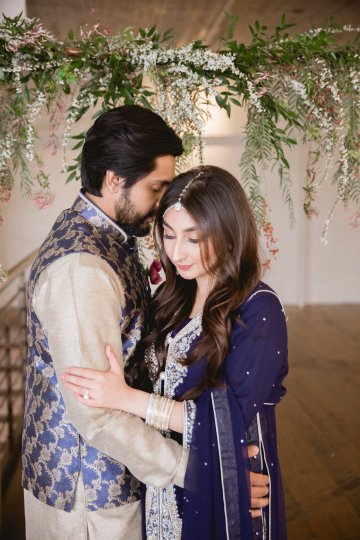 Multicultural Purple and Gold Bollywood Wedding Inspiration – Willow and Ivy Events – Zainab Rikabi 9