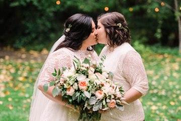 Rustic Barn Wedding Filled With Greenery | Deyla Huss Photography 5
