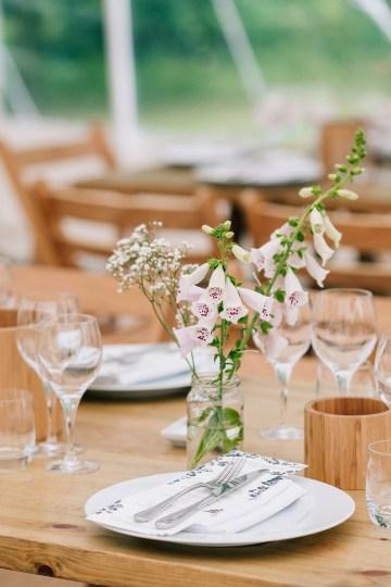 Rustic English Countryside Marquee Wedding | Babb Photo 23