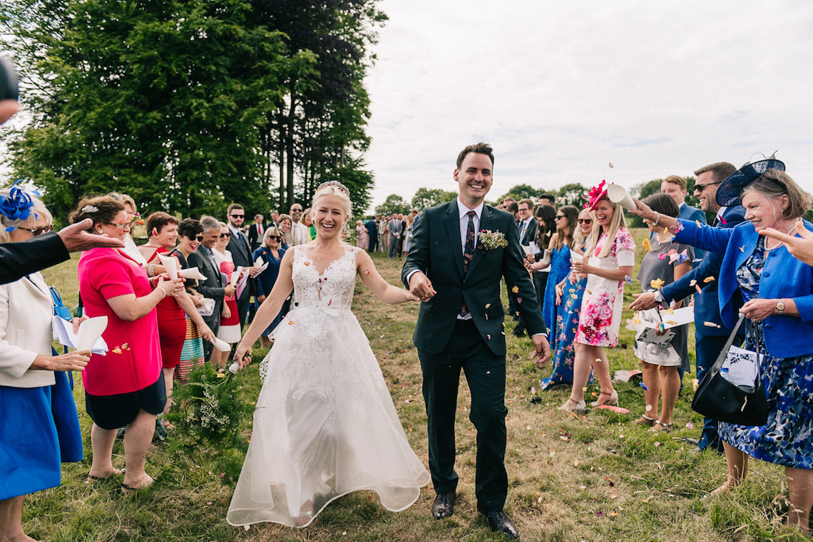 Rustic English Countryside Marquee Wedding | Babb Photo 8