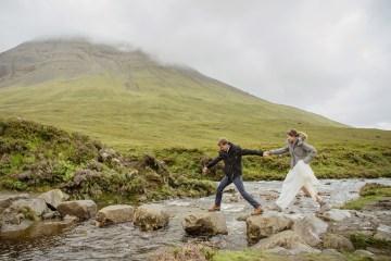 Wild & Adventurous Isle of Skye Elopement   Your Adventure Wedding 12