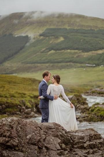 Wild & Adventurous Isle of Skye Elopement   Your Adventure Wedding 22