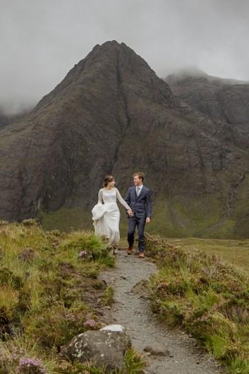Wild & Adventurous Isle of Skye Elopement   Your Adventure Wedding 25