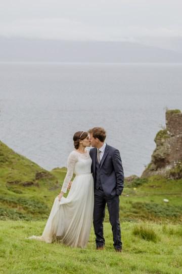 Wild & Adventurous Isle of Skye Elopement   Your Adventure Wedding 29