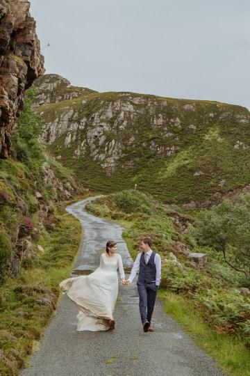 Wild & Adventurous Isle of Skye Elopement   Your Adventure Wedding 32