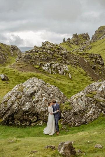 Wild & Adventurous Isle of Skye Elopement   Your Adventure Wedding 33