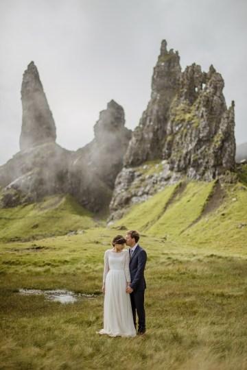 Wild & Adventurous Isle of Skye Elopement   Your Adventure Wedding 35