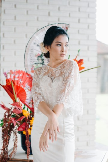 Zen Balinese Wedding Inspiration With A Dazzling Tiara   Nej Photo   Chere Weddings 58