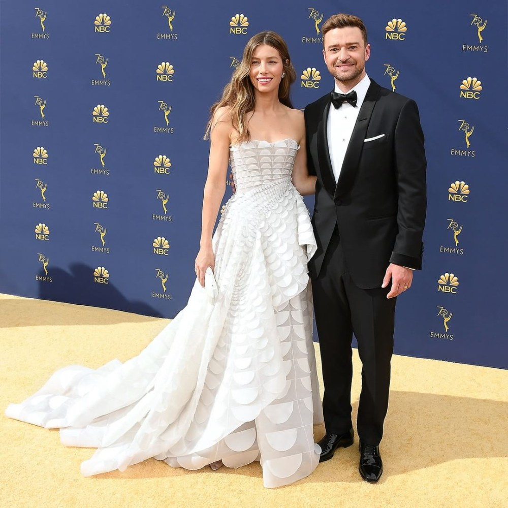 Jessica Biel Wedding Dress.10 Wedding Dresses To Match Your Favorite Emmys Red Carpet Stars
