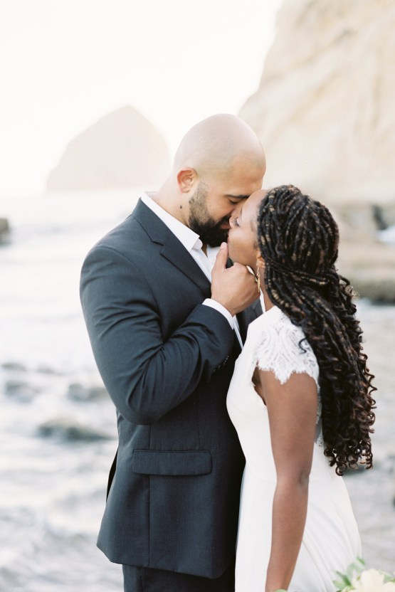 Blackberry and Pear Dreamy Beach Elopement Inspiration – Troy Meikle 1