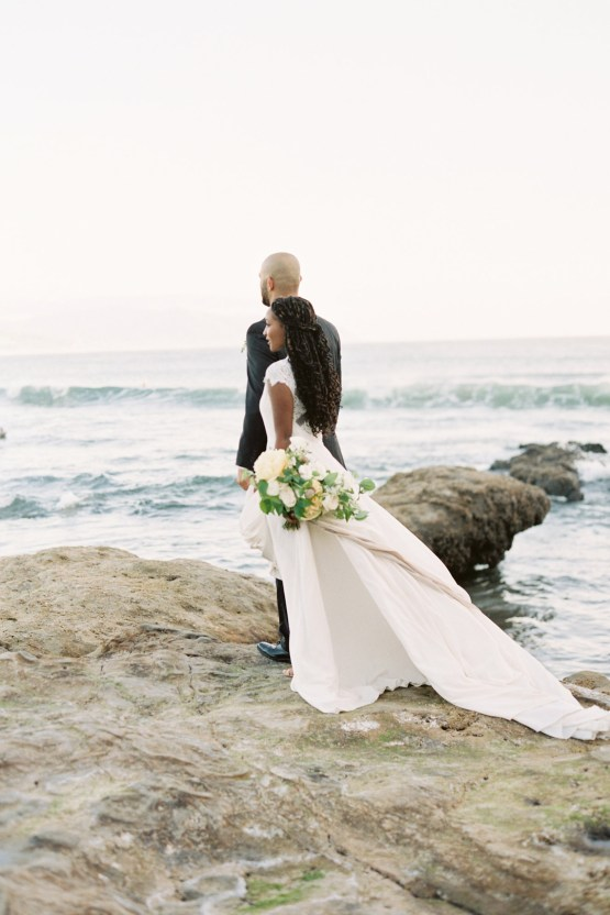 Blackberry and Pear Dreamy Beach Elopement Inspiration – Troy Meikle 2