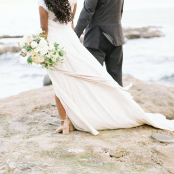 Blackberry and Pear Dreamy Beach Elopement Inspiration – Troy Meikle 35