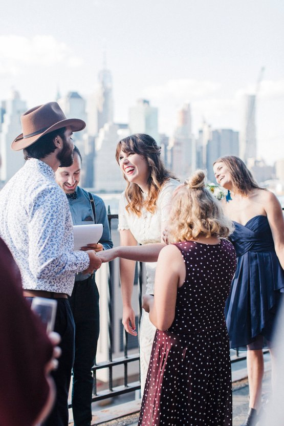 Country Western Meets Hip Brooklyn Elopement – Common Dove Photography 22