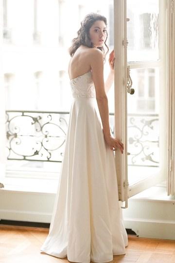 Elegant Blush Parisian Bridal Inspiration Featuring Luxurious Veils and Boudoir Ideas – Bonphotoge 10