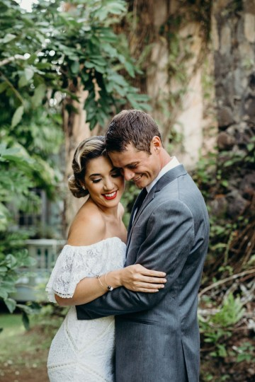 Glamorous and Tropical Hawaiian Wedding Inspiration – Melissa Ergo Photography 45