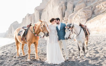 Seashell Wedding Ideas From The Beaches Of Greece