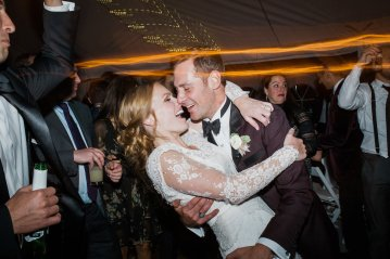 Warm Fall Catskills Wedding With Ceremony Sparklers – Christina Lilly Photography – Buds of Brooklyn 19