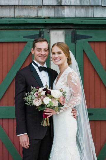 Warm Fall Catskills Wedding With Ceremony Sparklers – Christina Lilly Photography – Buds of Brooklyn 39
