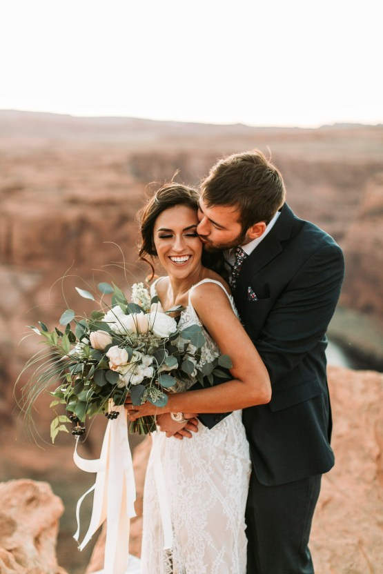 Wild and Bohemian Horseshoe Bend Wedidng Inspiration – Carmela Joy Photography – Luv Bridal 34