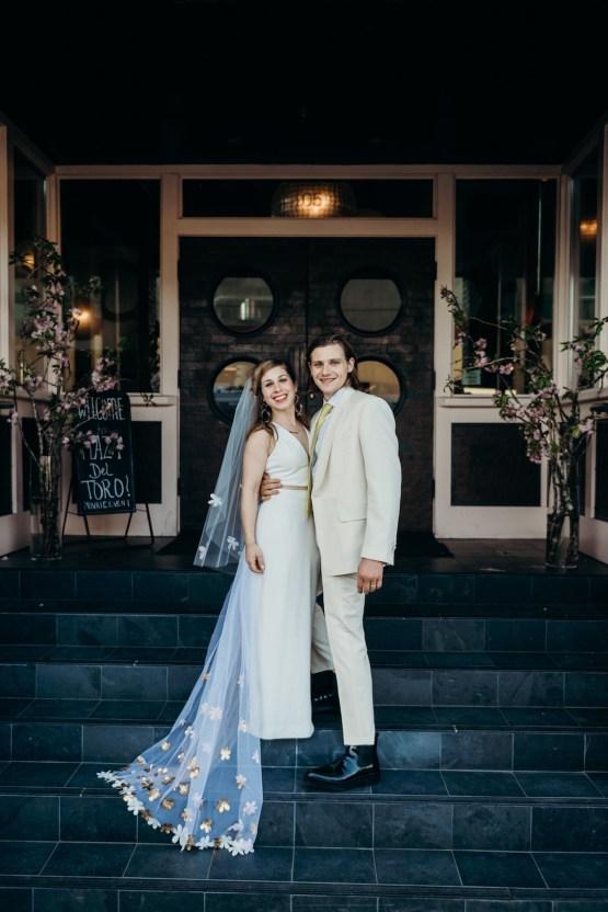 All-White Portland Photo Studio Wedding – Davis Hilton 38