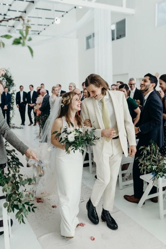 All-White Portland Photo Studio Wedding – Davis Hilton 46