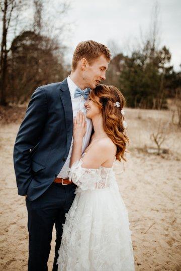 Beach Boho Wedding Inspiration With Agate Ideas – Stefanie Lange 20