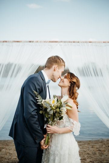 Beach Boho Wedding Inspiration With Agate Ideas – Stefanie Lange 23