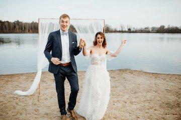 Beach Boho Wedding Inspiration With Agate Ideas – Stefanie Lange 5