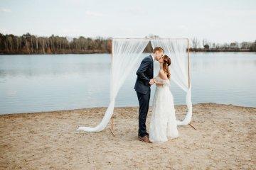 Beach Boho Wedding Inspiration With Agate Ideas – Stefanie Lange 6