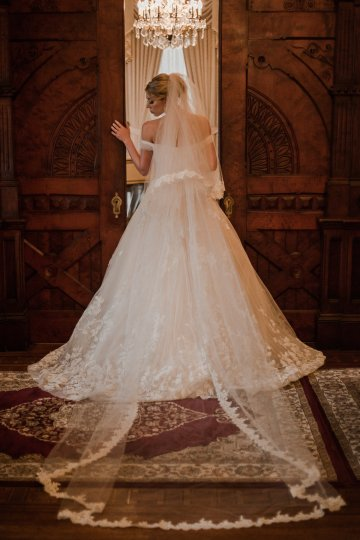 Champagne & Pink Chateau Wedding Inspiration In Texas – Wild Love Photography 16