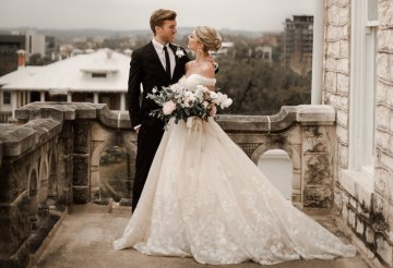 Champagne & Pink Chateau Wedding Inspiration In Texas – Wild Love Photography 2