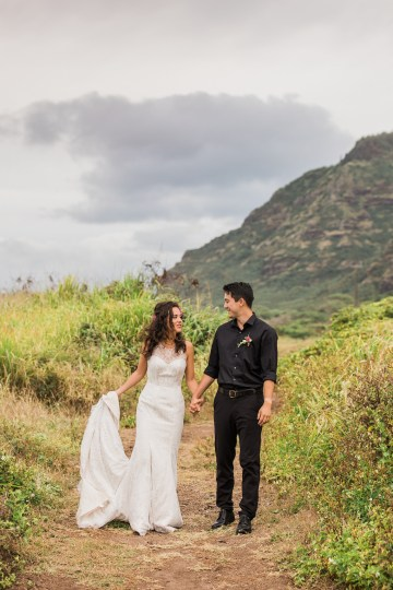 Colorful Hawaiian Boho Wedding Inspiration – Chelsea Stratso Photography 40