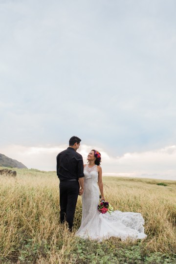 Colorful Hawaiian Boho Wedding Inspiration – Chelsea Stratso Photography 54