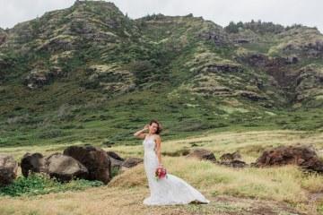 Colorful Hawaiian Boho Wedding Inspiration – Chelsea Stratso Photography 8