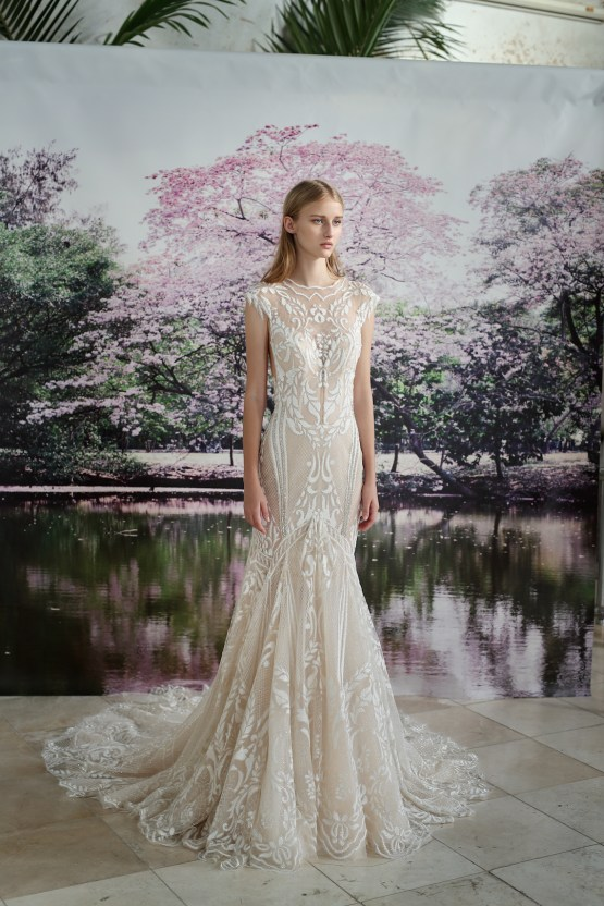 Galia Lahav Modern Fairytale-Inspired Wedding Dress Collection G-202 Front
