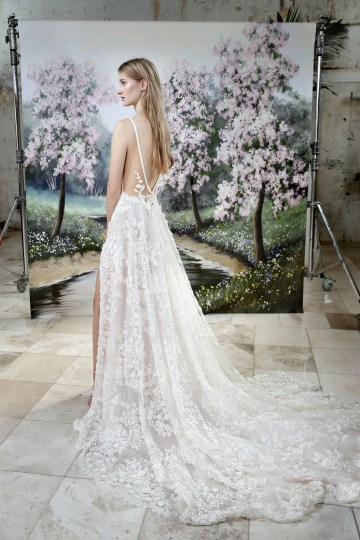 Galia Lahav Modern Fairytale-Inspired Wedding Dress Collection G-205 Back