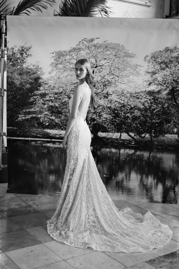 Galia Lahav Modern Fairytale-Inspired Wedding Dress Collection G-207 Back