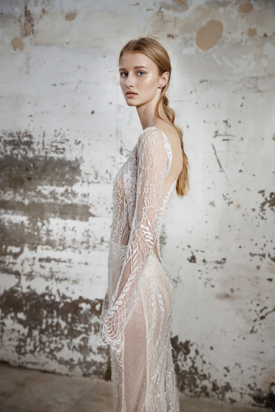 Galia Lahav Modern Fairytale-Inspired Wedding Dress Collection G-209 Closeup