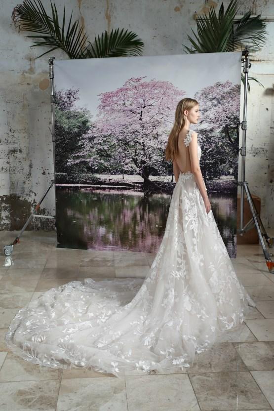Galia Lahav Modern Fairytale-Inspired Wedding Dress Collection G-210 Back