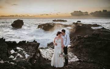 Intimate & Secret Balinese Destination Wedding Under The Stars