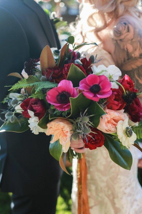 Metallic Copper Wedding Inspiration With A Creative Hexagon Altar – Allie Marion 21