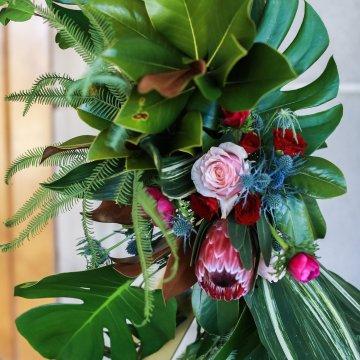 Metallic Copper Wedding Inspiration With A Creative Hexagon Altar – Allie Marion 3