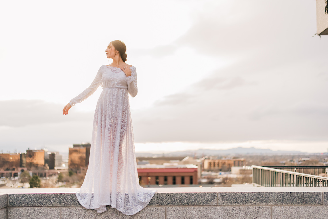 Modern Modest Metropolitan Bridal Inspiration – J Noelle Designs – Hiliary Stewart 4