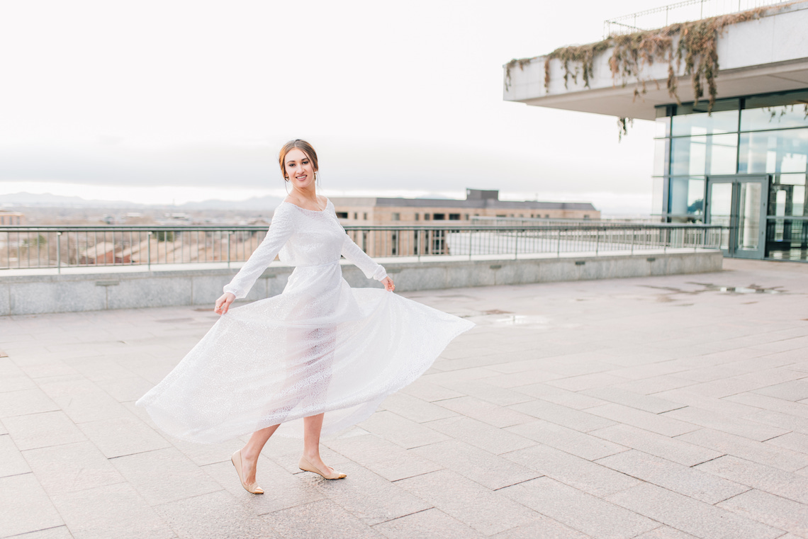 Modern Modest Metropolitan Bridal Inspiration – J Noelle Designs – Hiliary Stewart 8