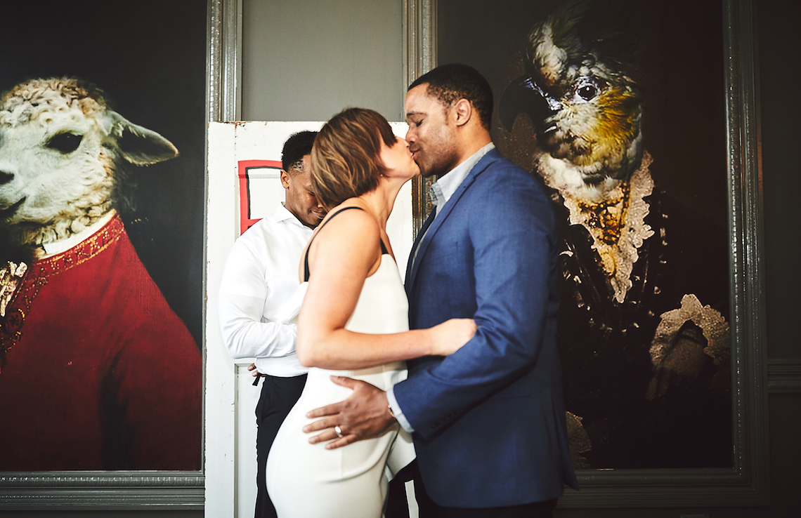 Modern Two Part Wedding With A Stylish Jumpsuit – Bri Johnson Photography 2
