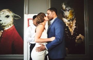 Modern Two Part Wedding With A Stylish Jumpsuit – Bri Johnson Photography 2