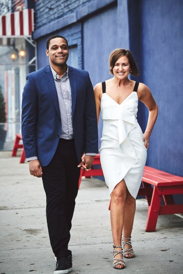 Modern Two Part Wedding With A Stylish Jumpsuit – Bri Johnson Photography 22